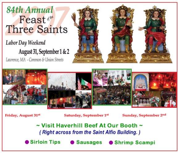 84th Annual Feast of the Three Saints