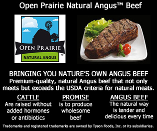 Open Prairie Natural Angus™ Beef